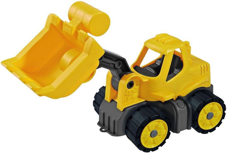 BIG Spielfahrzeug, »BIG Power Worker Mini Radlader« in gelb