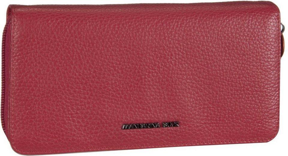 Mandarina Duck Mellow Leather Wallet in Crimson
