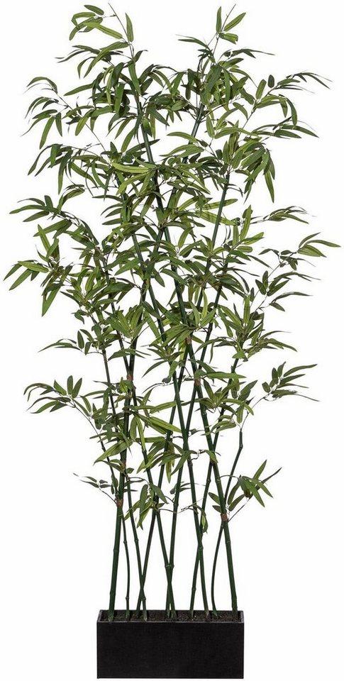 Home affaire Kunstpflanze »Bambus Raumteiler« in grün