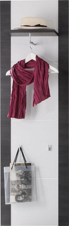 Wandpaneel »Xpress« in eschefarben grau / weiß