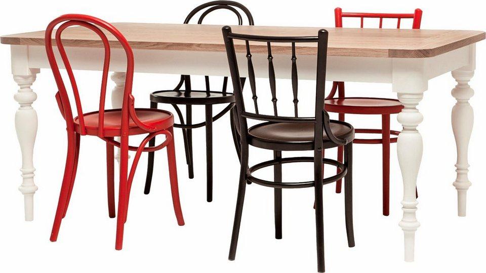 Premium collection by Home affaire Tisch »Hertford«, 180 cm breit aus Massivholz in natur