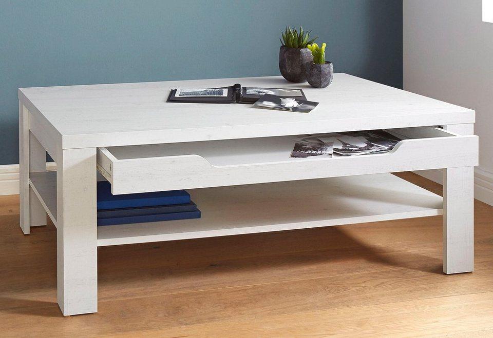 couchtisch mit schubkasten und ablageboden kaufen otto. Black Bedroom Furniture Sets. Home Design Ideas