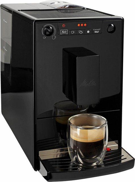 Melitta Kaffeevollautomat Caffeo Solo E950-22, extra schmales Design