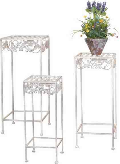 Home affaire Metall-Blumenständer, 3er-Set