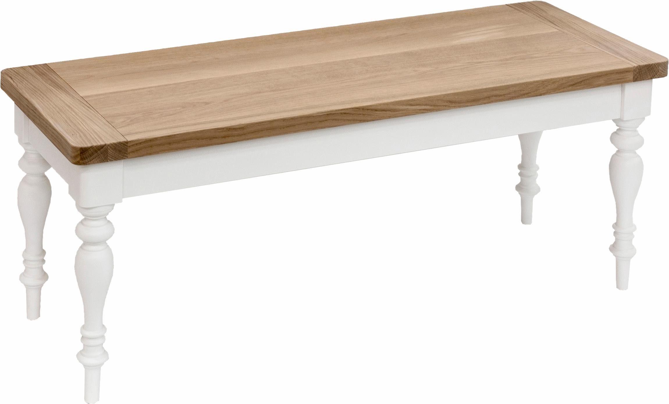 Premium collection by Home affaire Bank »Hertford«, 110 cm breit aus Massivholz