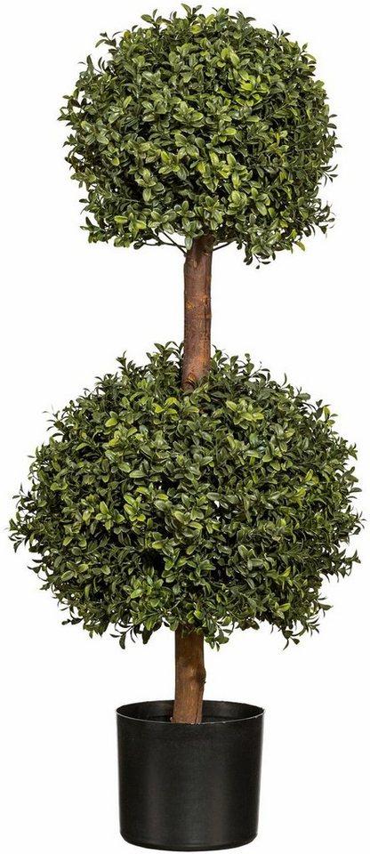 Home affaire Kunstpflanze »Buchskugelbaum« in grün