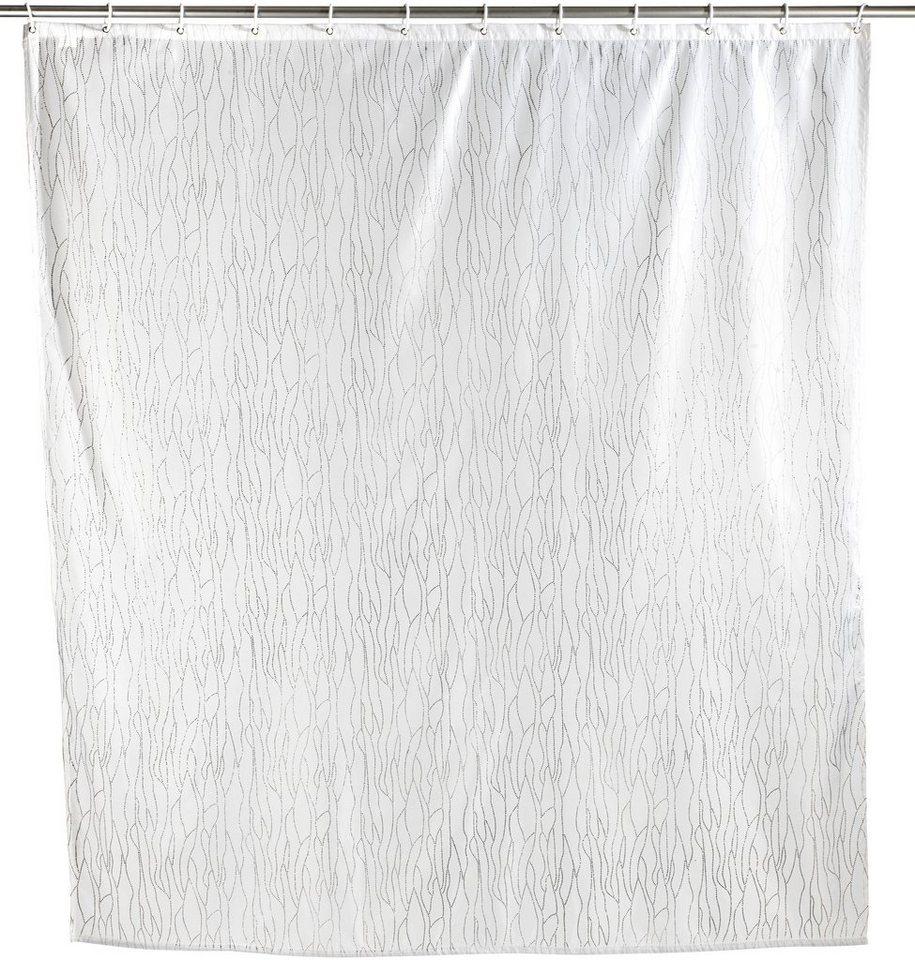 Duschvorhang »Deluxe « in weiß