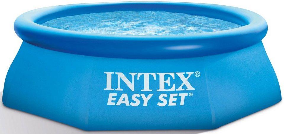 Pool, »Easy Set Pool-Set«, Intex in blau