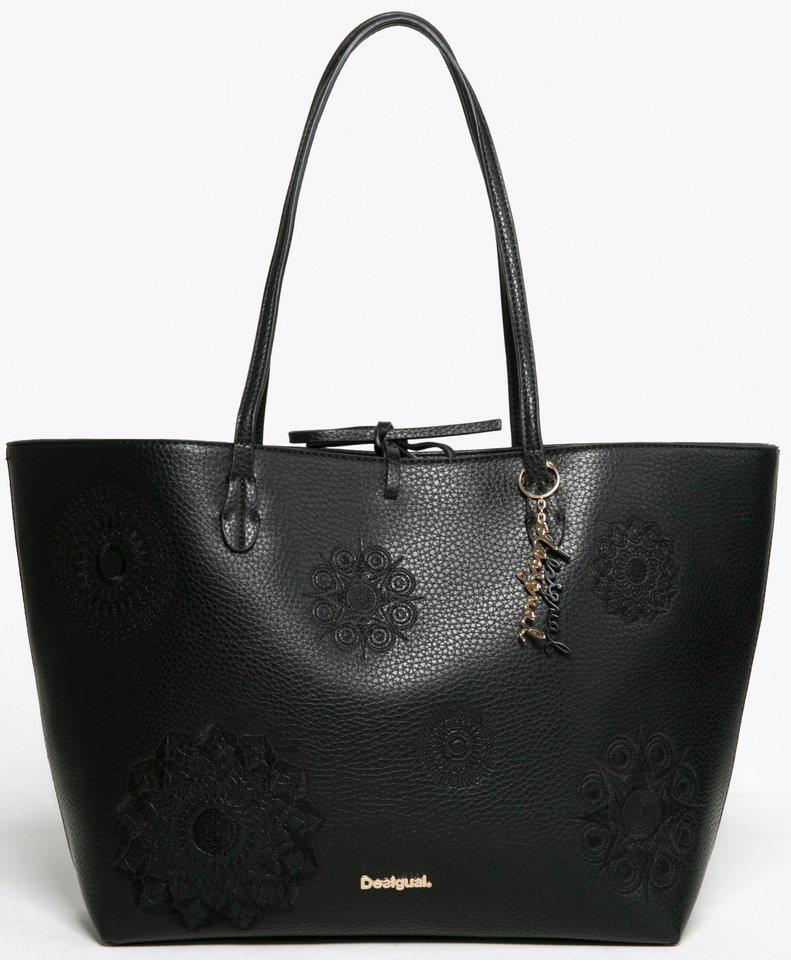 Desigual Shopper in schwarz