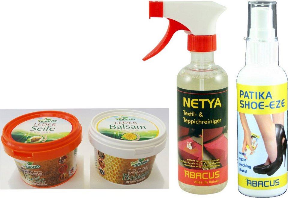 Maximex Pflege- und Reinigungs-Set, 3-teilig in bunt