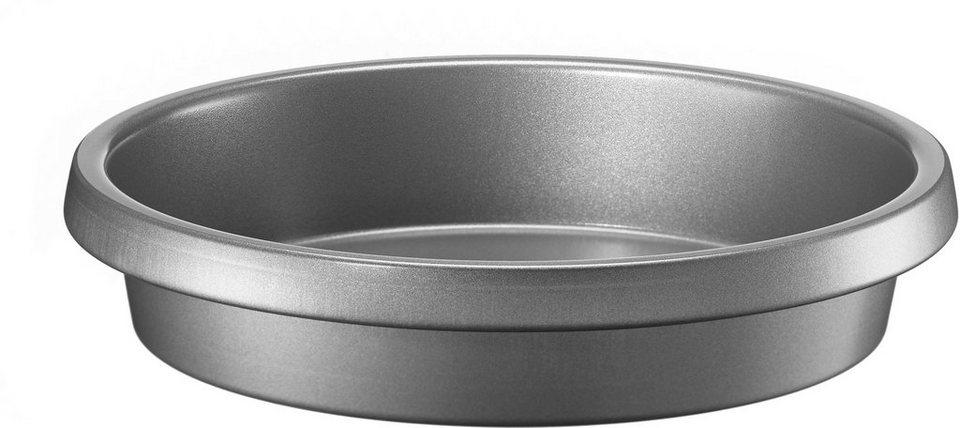 KitchenAid Runde Backform, antihaftbeschichtet, »KBNSO09RD« in grau