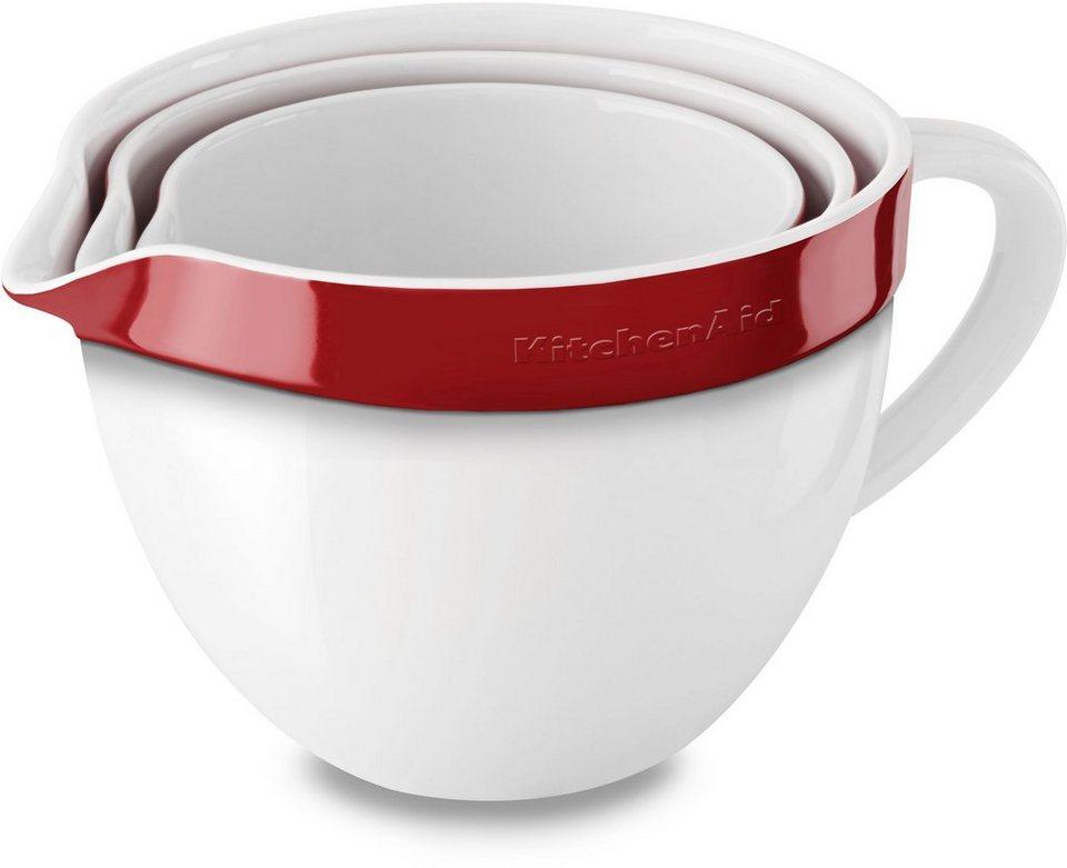 Kitchenaid Ruhrschussel Kblr03nber Keramik Set 3 Tlg Mikrowellengeeignet Online Kaufen Otto
