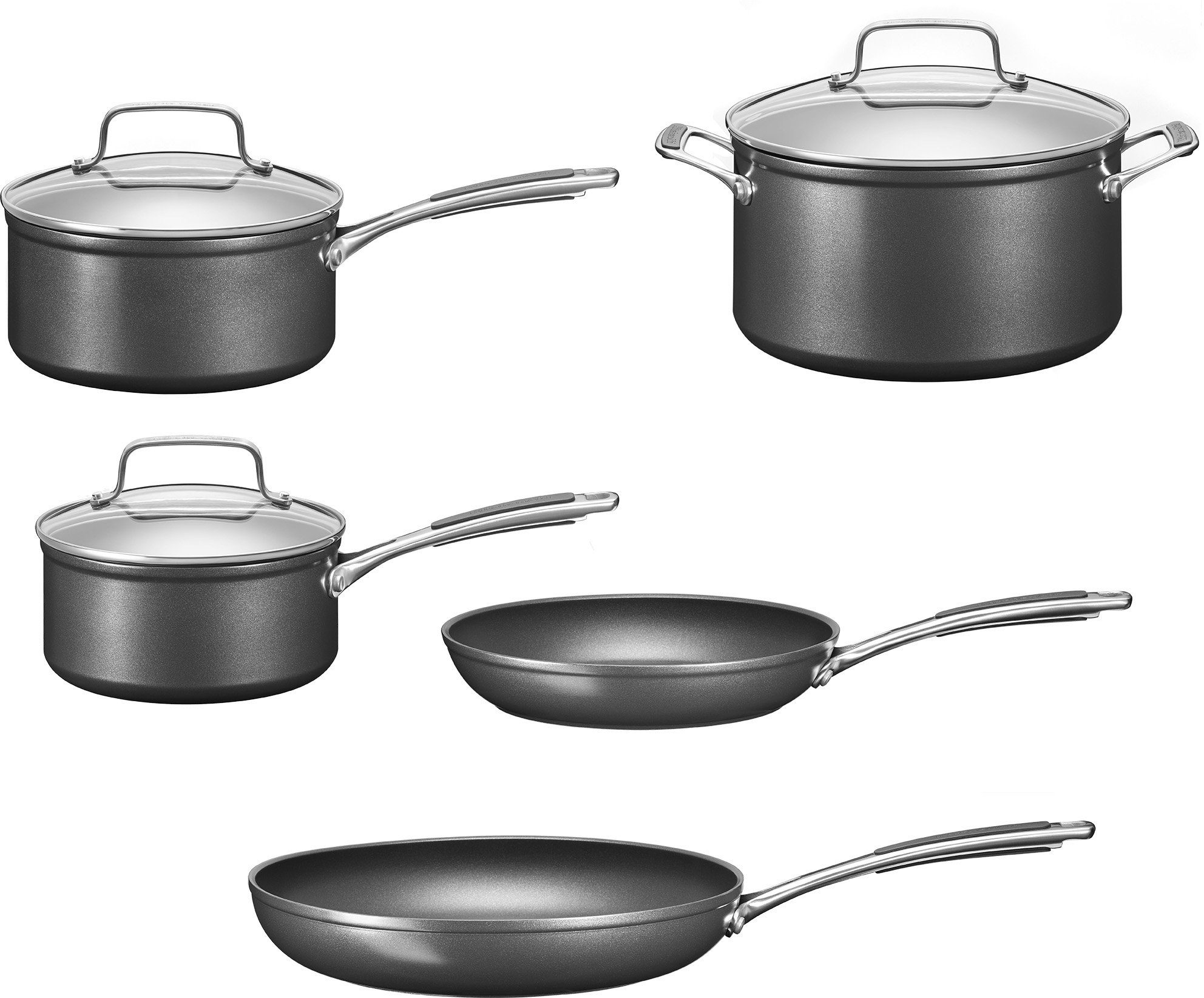 KitchenAid Kochgeschirr-Set, Aluminium, Induktion
