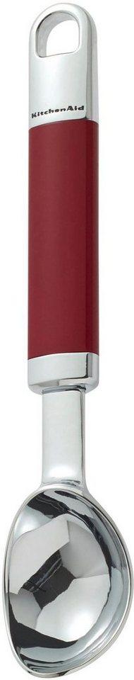 KitchenAid Eiscremeportionierer, »KGEM3108ER« in rot/silberfarben