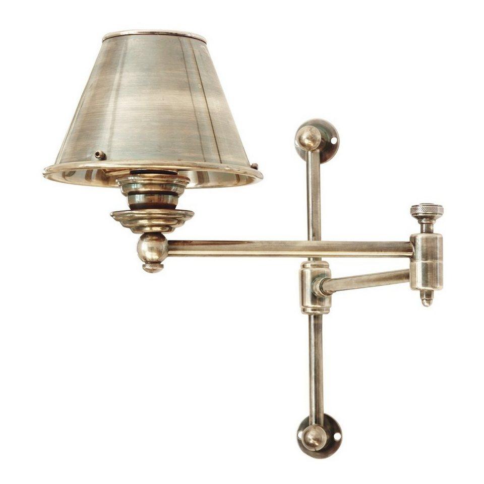 Loberon Wandlampe »Francine« in antiksilber