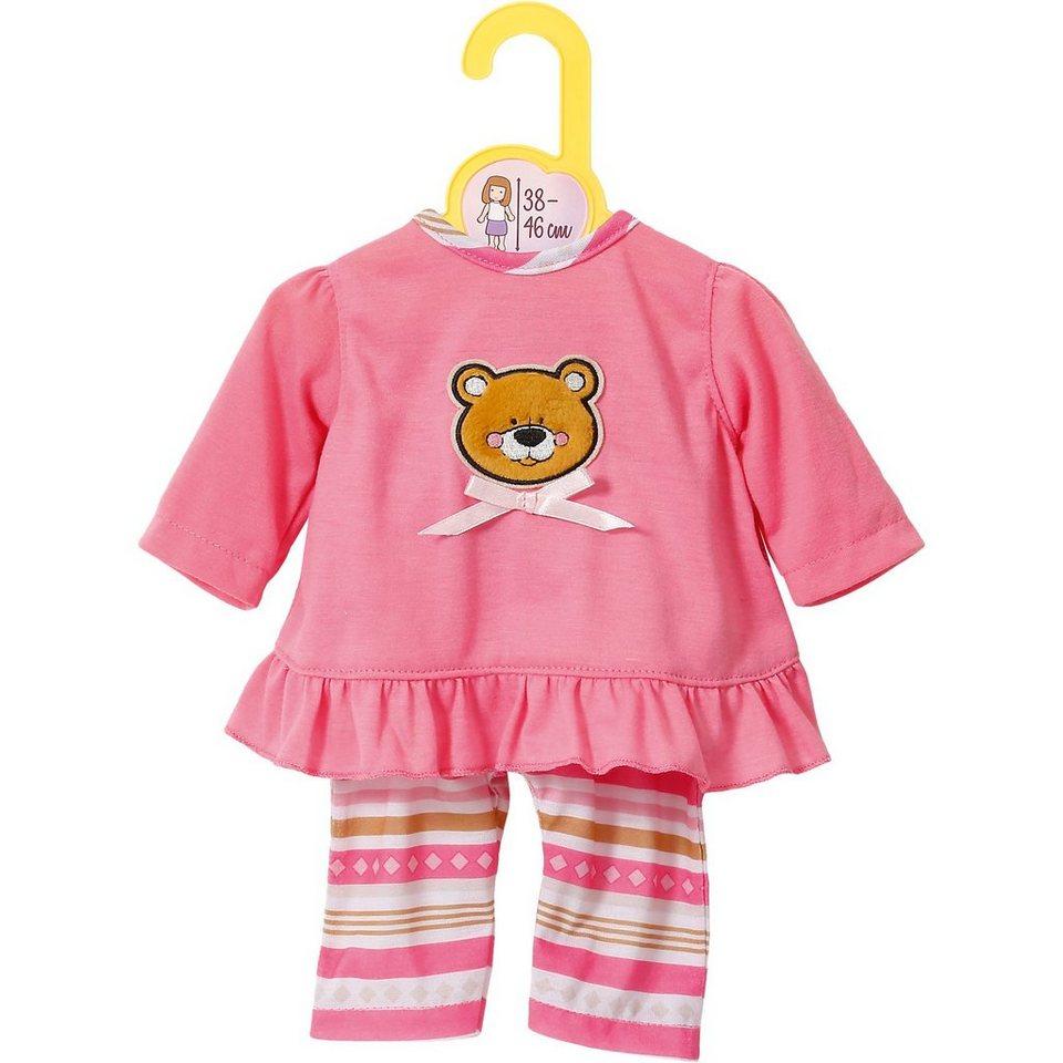 Zapf Creation Dolly Moda Puppenkleidung Pyjama 38-46 cm