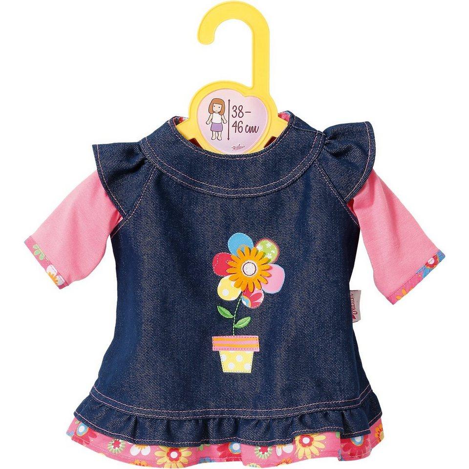 Zapf Creation Dolly Moda Puppenkleidung Jeanskleid 38-46 cm