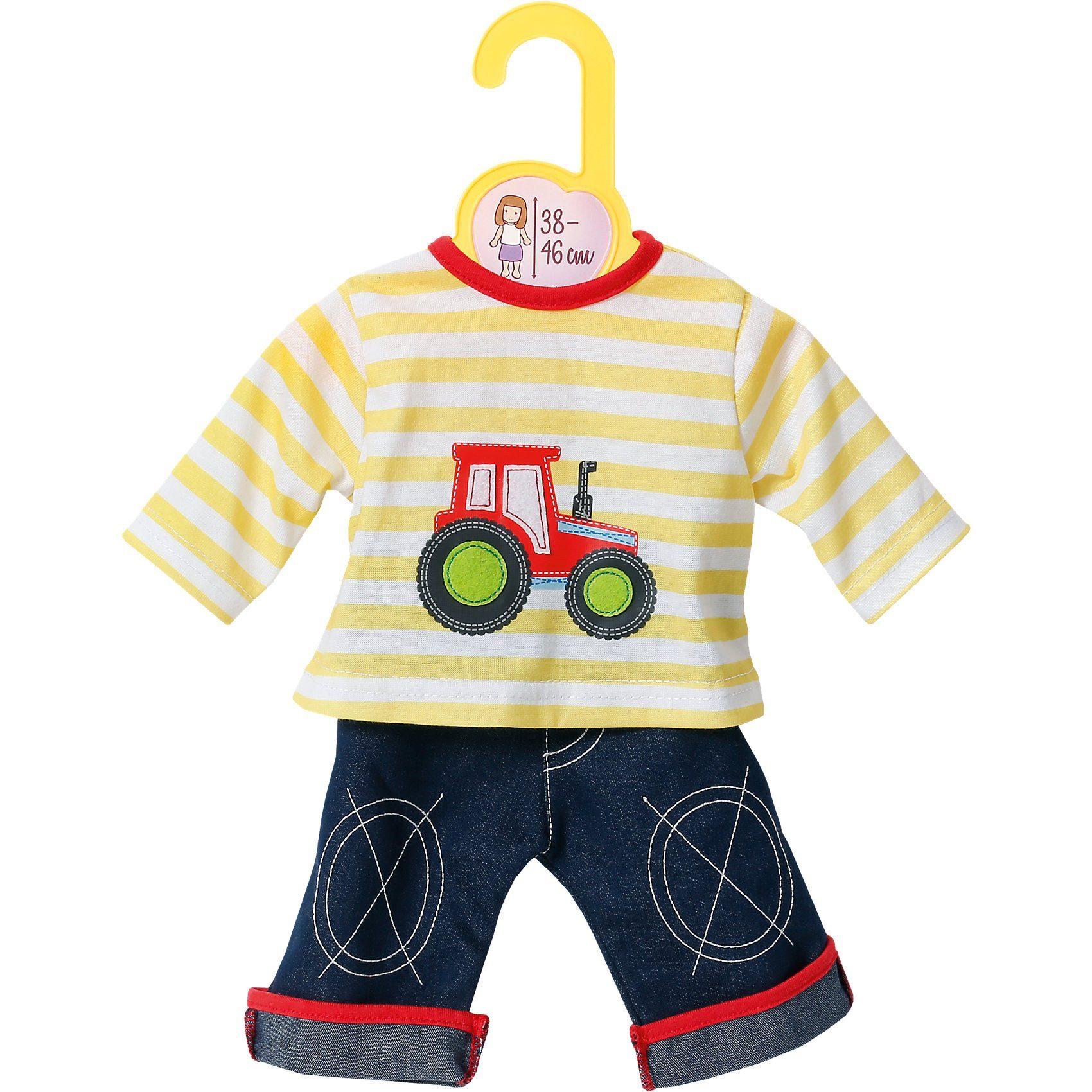 Zapf Creation Dolly Moda Puppenkleidung Jeans mit Shirt 38-46 cm