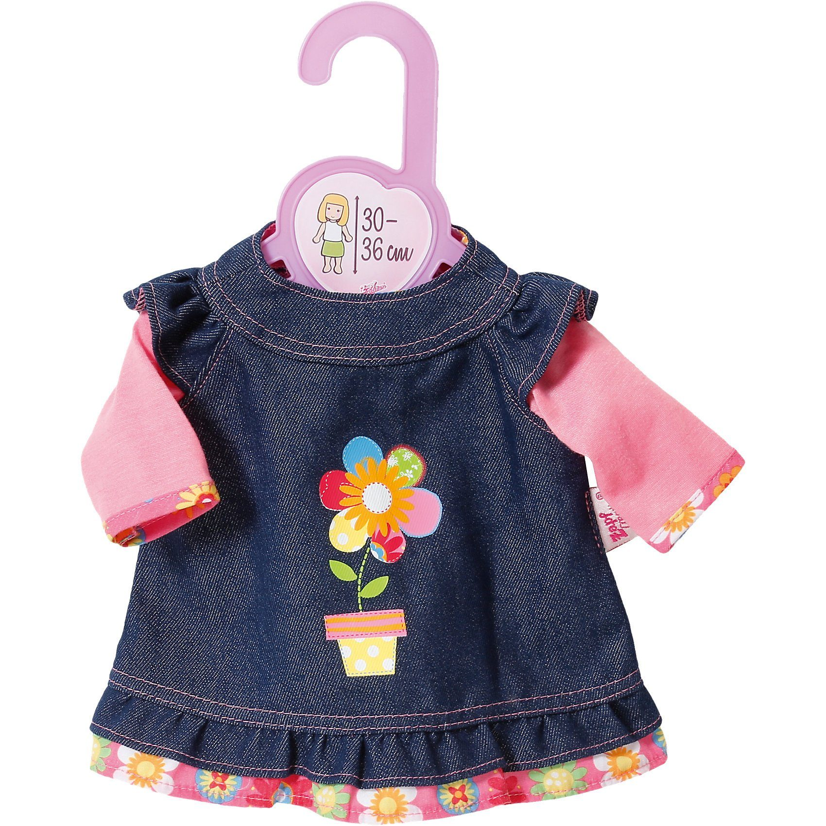 Zapf Creation Dolly Moda Jeanskleid 30-36 cm