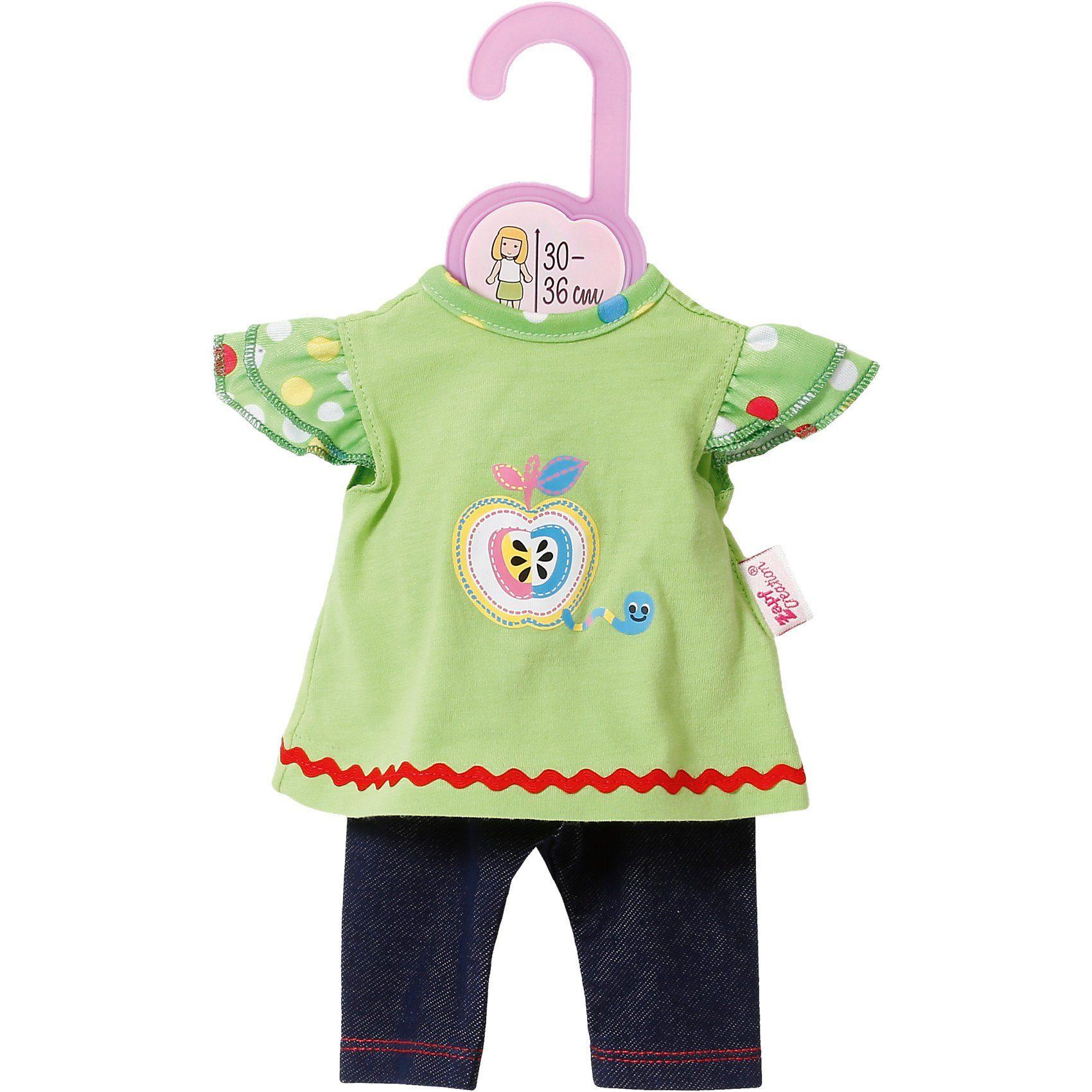 Zapf Creation Dolly Moda Puppenkleidung Shirt mit Leggings 30-36 cm