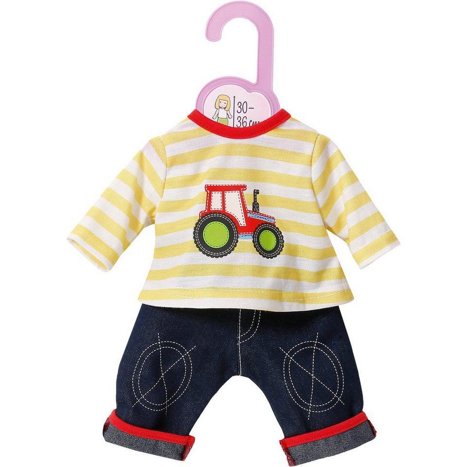 Zapf Creation Dolly Moda Jeans mit Shirt 30-36 cm