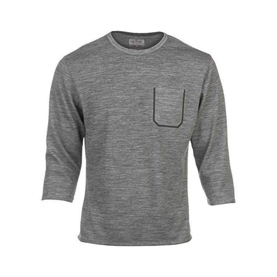 Giro T-Shirt »5 Ride Shirt 3/4 Men« in grau