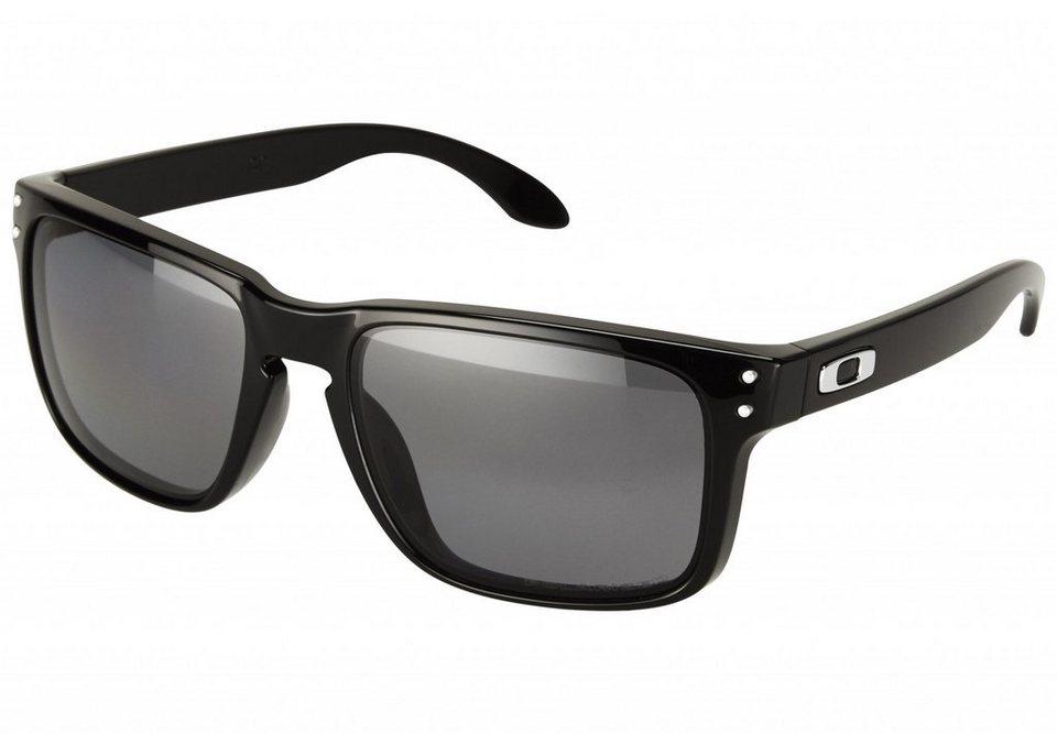Oakley Radsportbrille »Holbrook Brille« in schwarz
