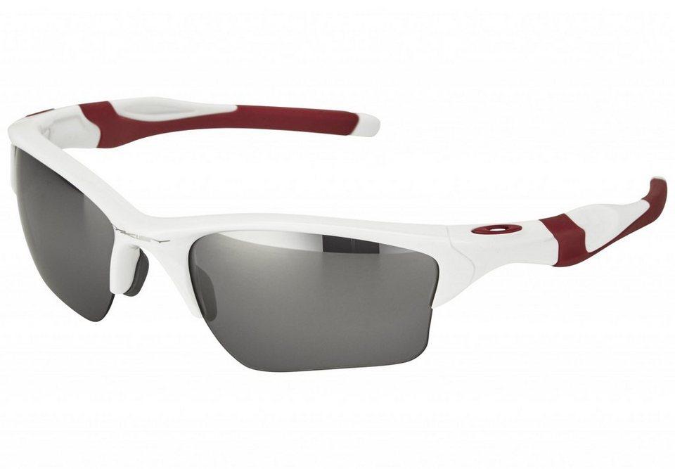 Oakley Radsportbrille »Half Jacket 2.0 Brille« in weiß