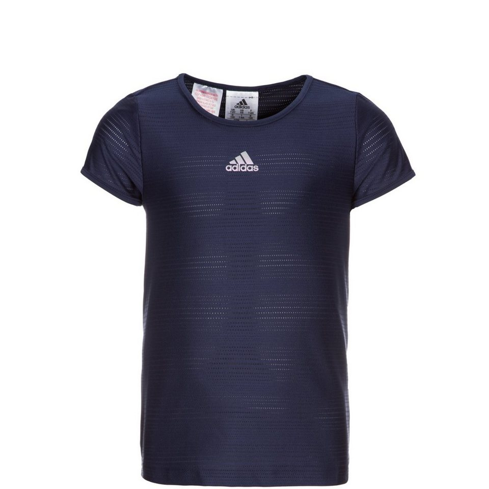 adidas Performance Prime Fit Pro Tennisshirt Kinder in dunkelblau