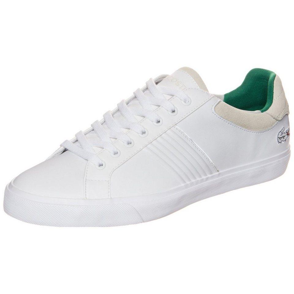 LACOSTE Fairlead Sneaker Herren in weiß / beige