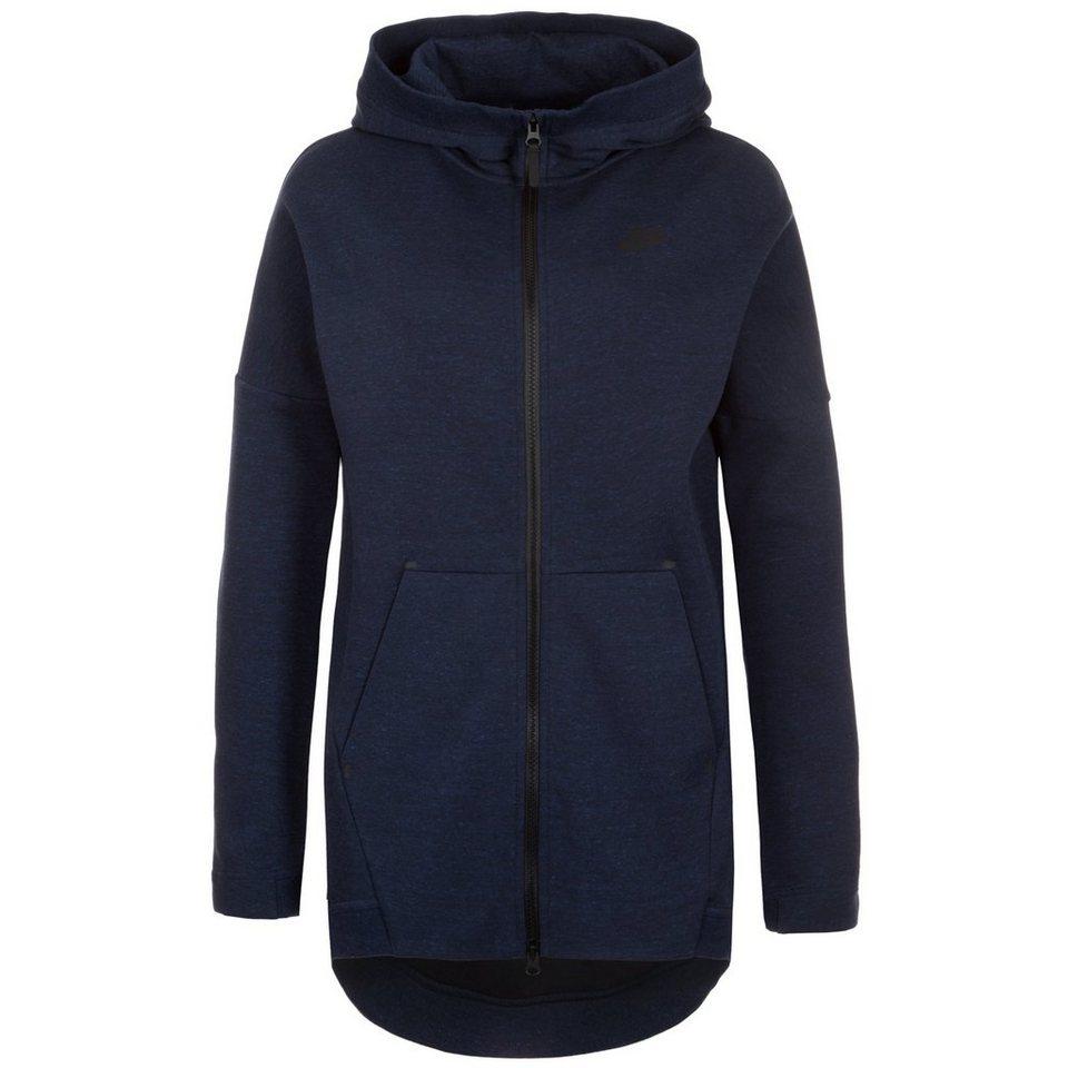 Nike Sportswear Tech Fleece Cape Kapuzenjacke Damen in dunkelblau