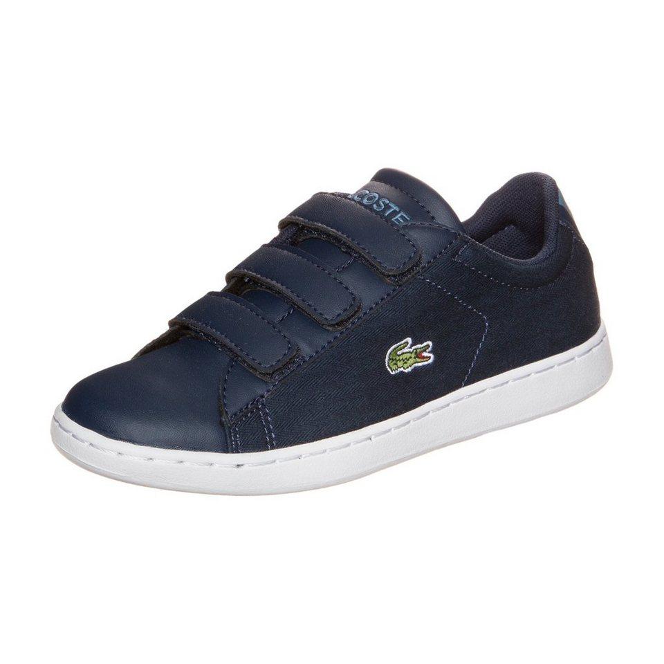 LACOSTE Carnaby Evo Sneaker Kinder in dunkelblau