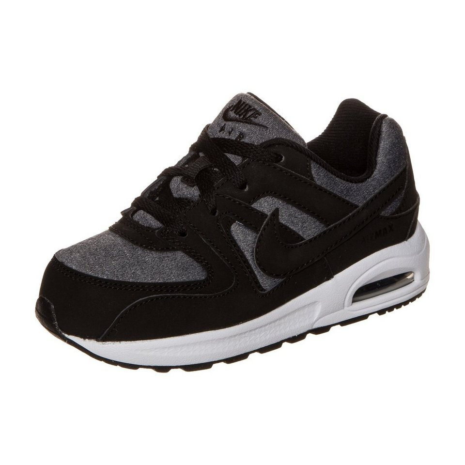 Nike Sportswear Air Max Command Flex Sneaker Kleinkinder in schwarz / grau
