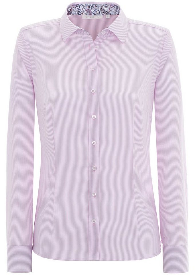 ETERNA 1/1-Arm Bluse »COMFORT FIT« in rose
