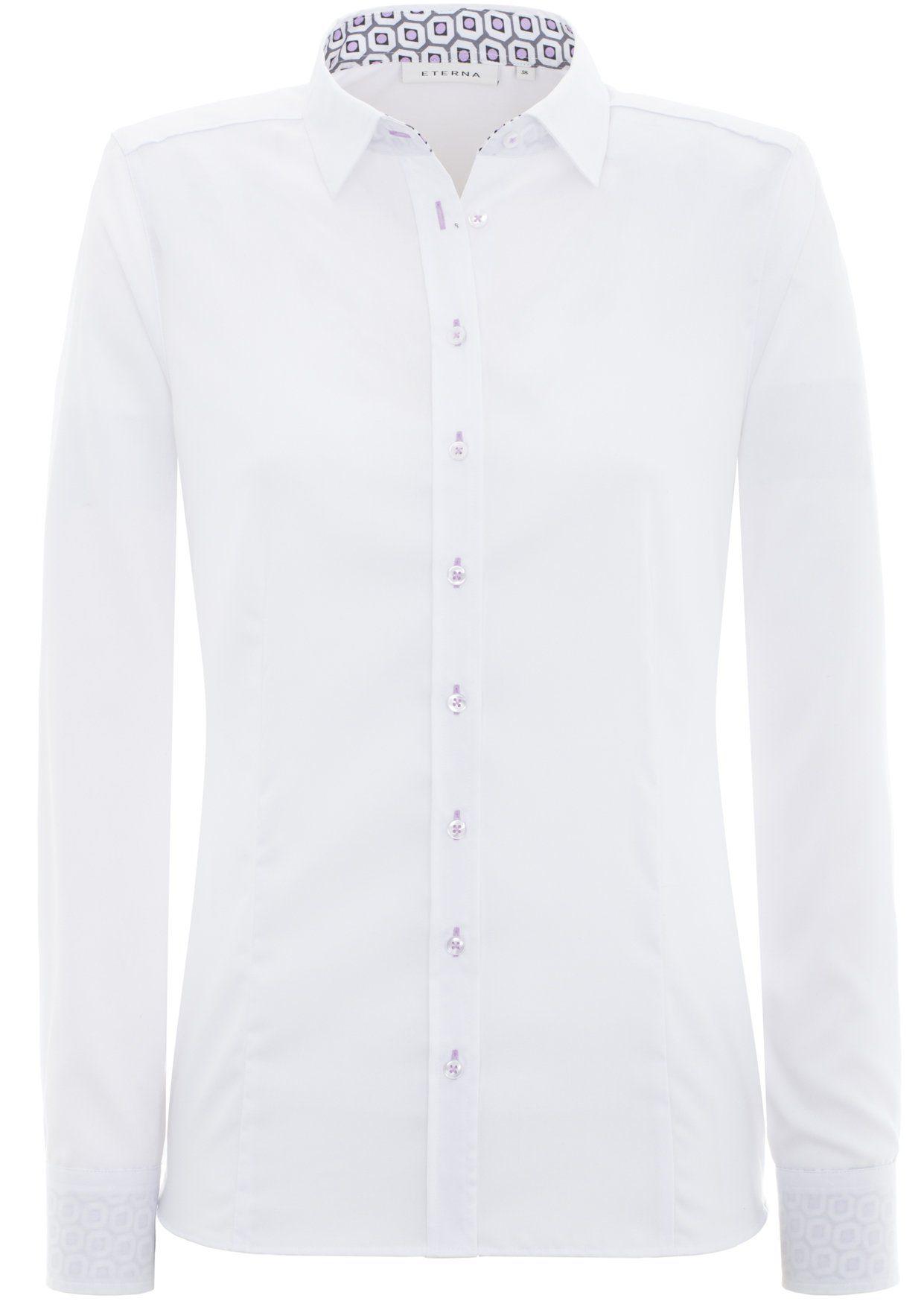 ETERNA 1/1-Arm Bluse »COMFORT FIT«