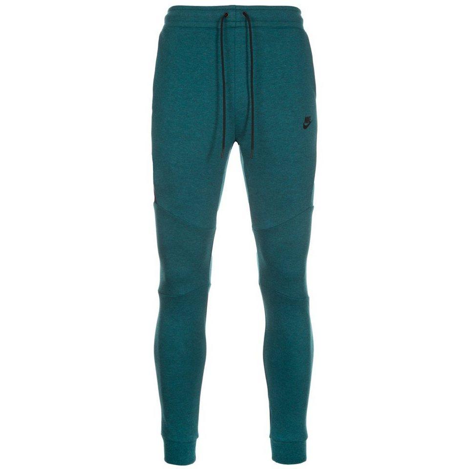 Nike Sportswear Tech Fleece Jogger Trainingshose Herren in grün / schwarz
