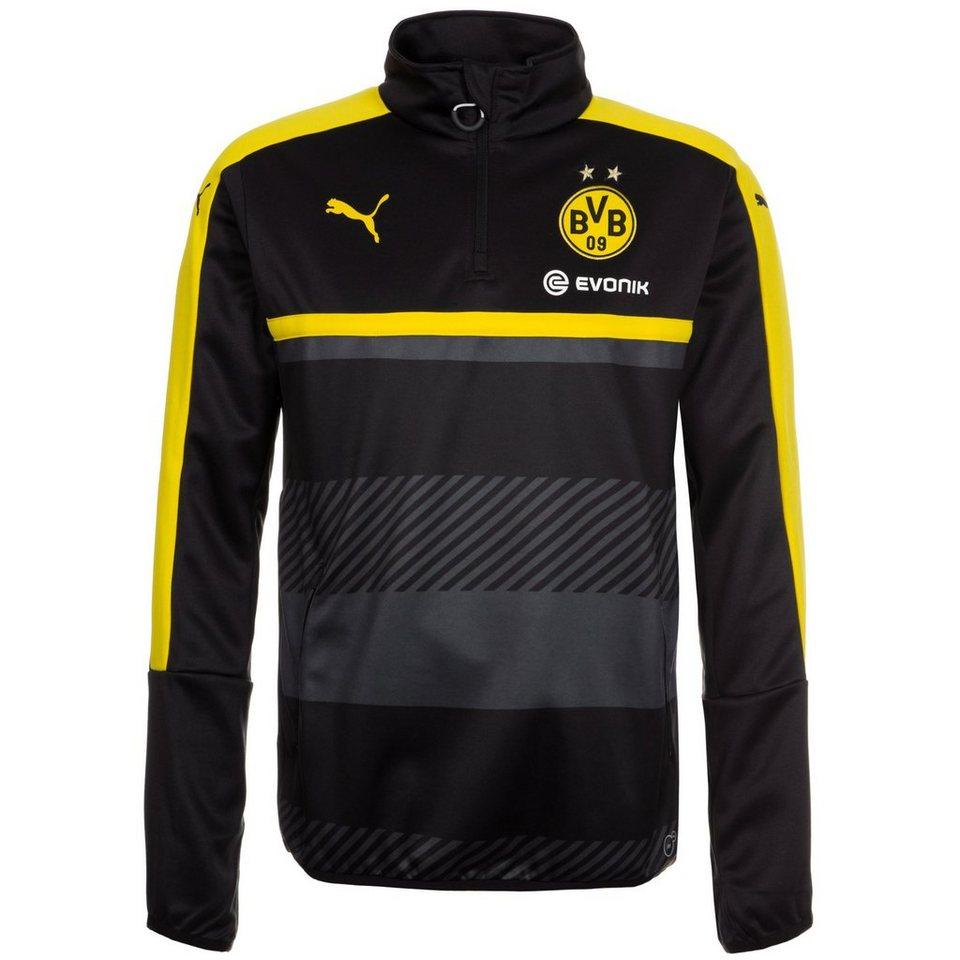 PUMA Borussia Dortmund Trainingssweat Herren in gelb / schwarz