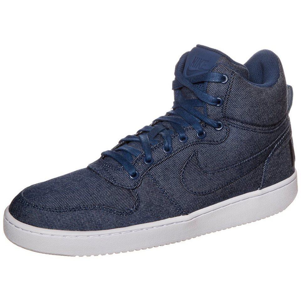 Nike Sportswear Court Borough Mid Premium Sneaker Herren in blau