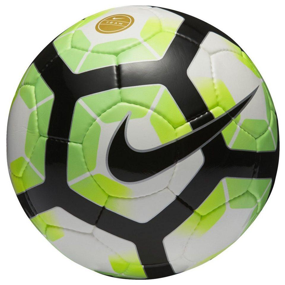 NIKE Premier Team FIFA Fußball in weiß / grün