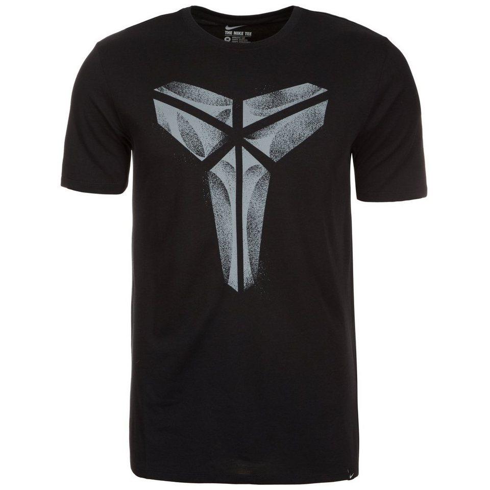 NIKE Kobe XXIV T-Shirt Herren in schwarz / grau