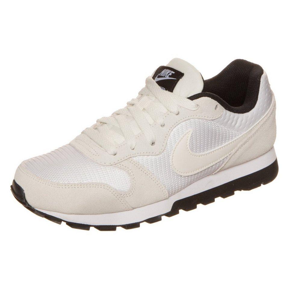 Nike Sportswear MD Runner 2 Sneaker Damen in beige / weiß