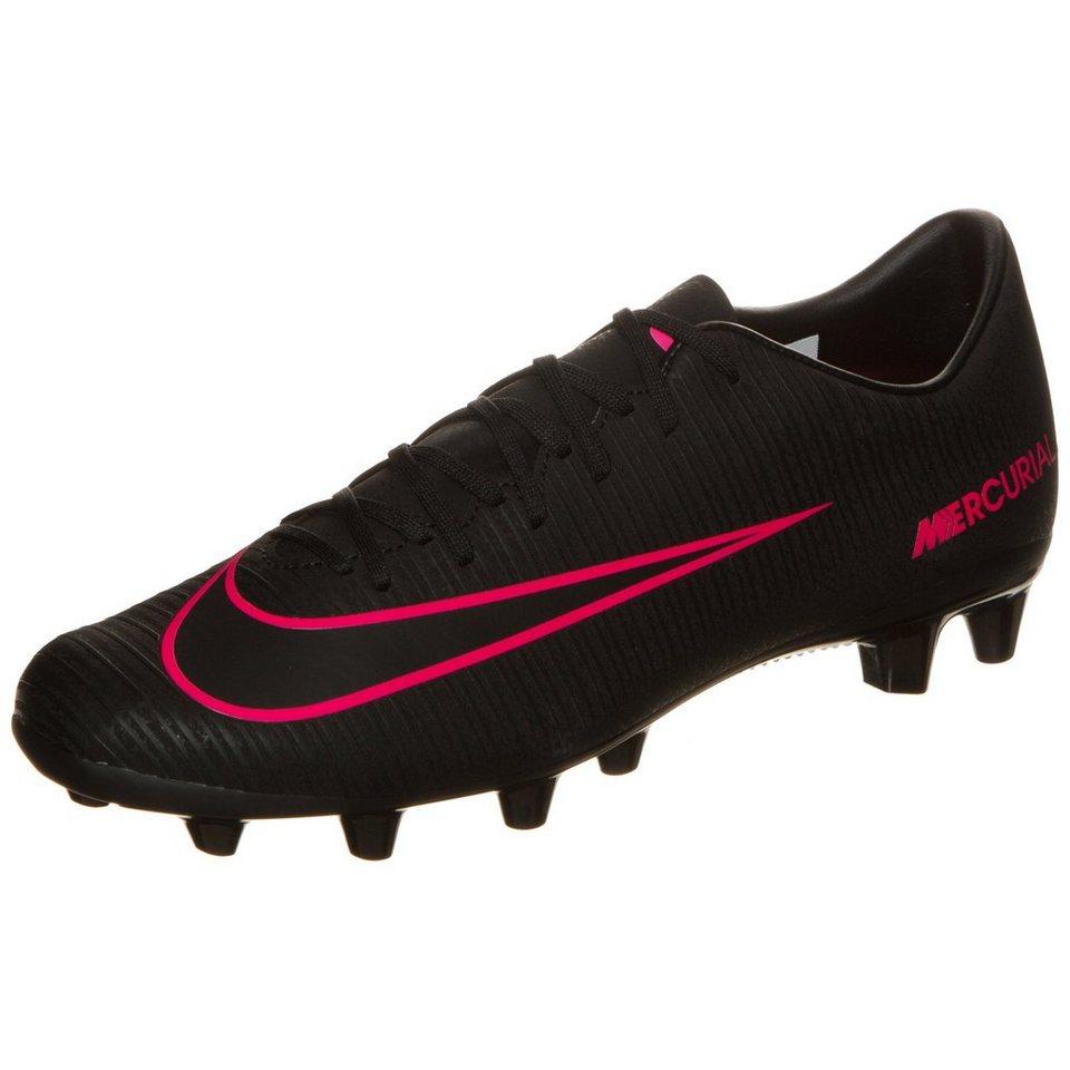 NIKE Mercurial Victory VI AG-Pro Fußballschuh Herren in schwarz / pink