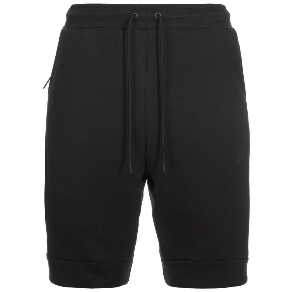 Nike Sportswear Tech Fleece Short Herren in schwarz