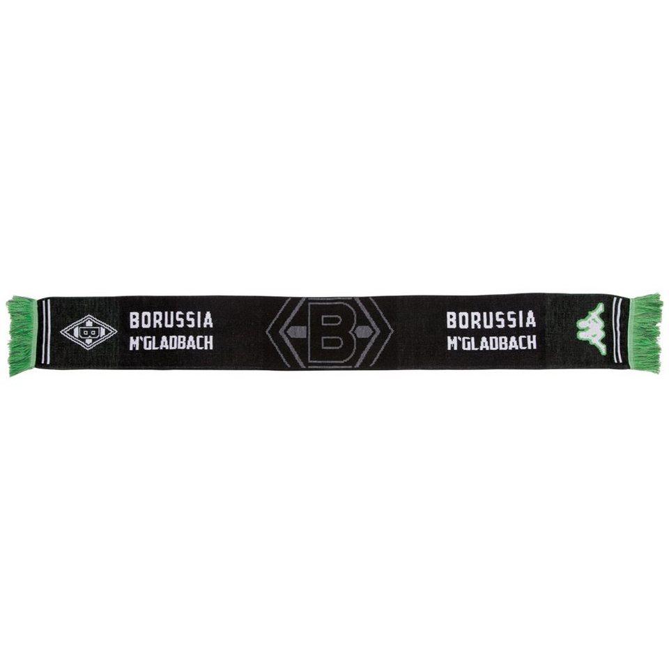 KAPPA Schal »Borussia Mönchengladbach Schal 16-17« in black