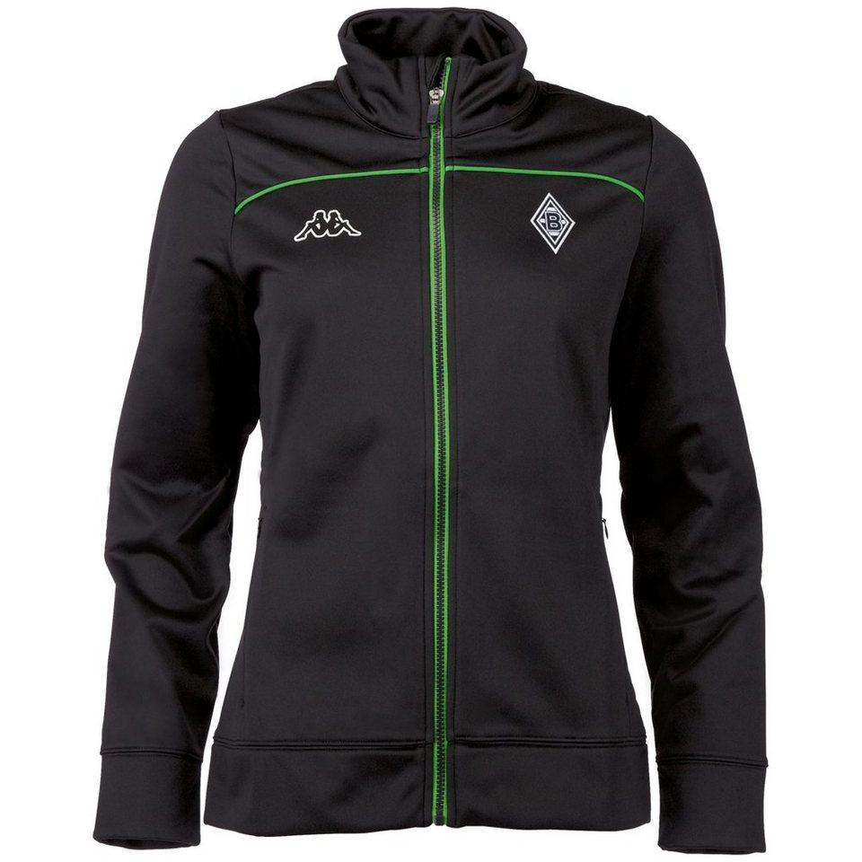 KAPPA Softshelljacke Damen »Borussia Mönchengladbach Softshelljacke Ladies « in black