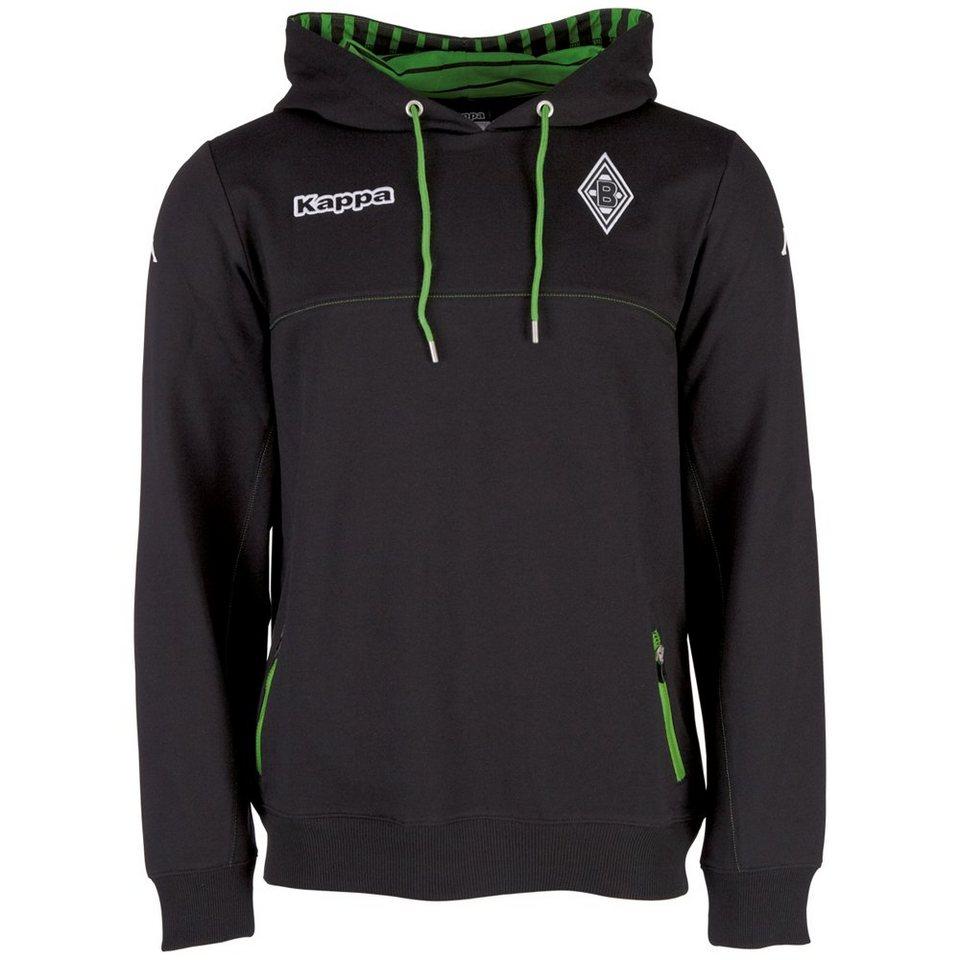 KAPPA Sweatshirt »Borussia Mönchengladbach Sweatshirt 16-17« in black