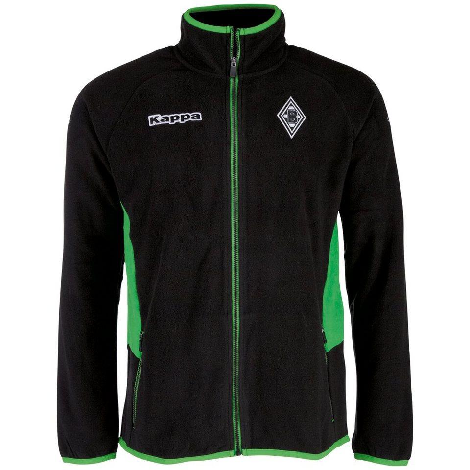 KAPPA Fleecejacke »Borussia Mönchengladbach Fleecejacke 16-17« in black
