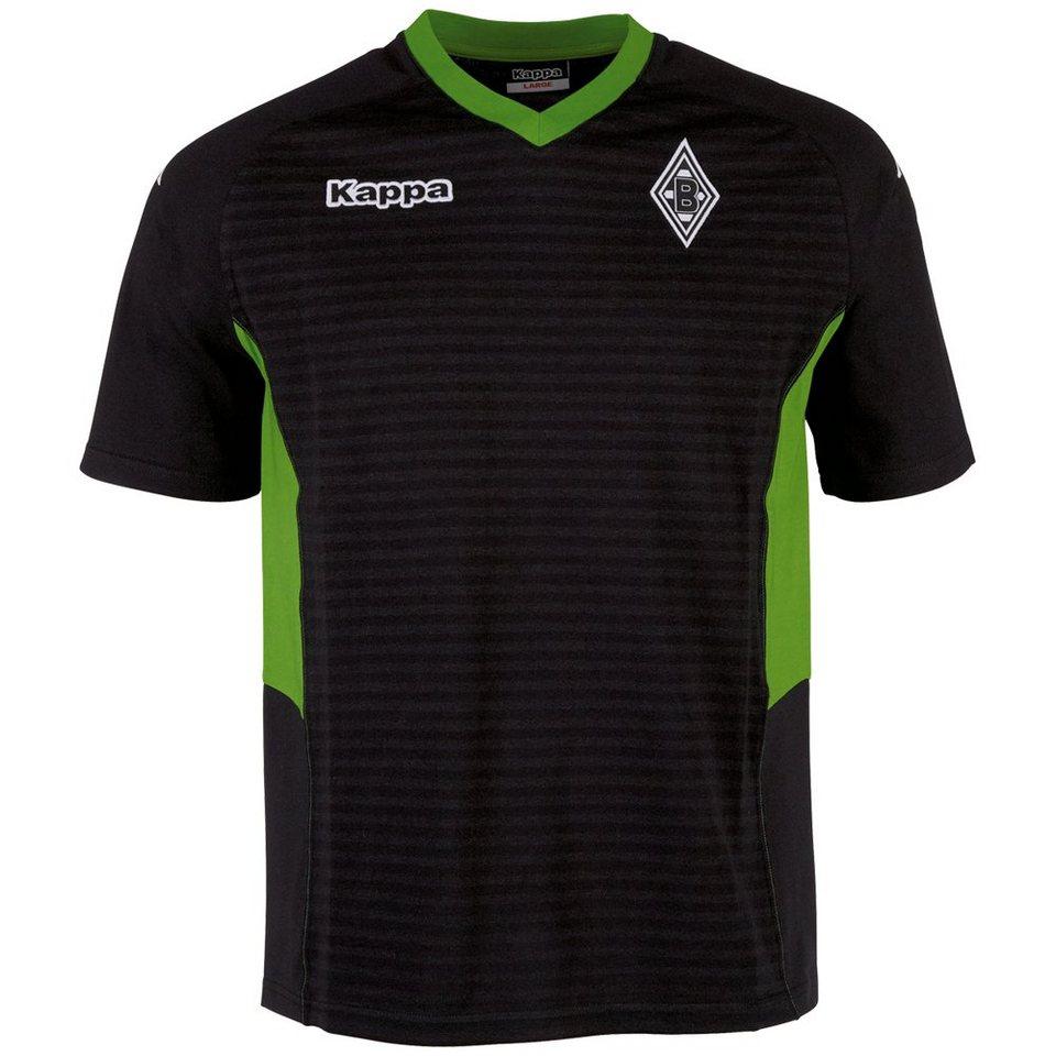 KAPPA T-Shirt »Borussia Mönchengladbach T-Shirt 16-17« in black