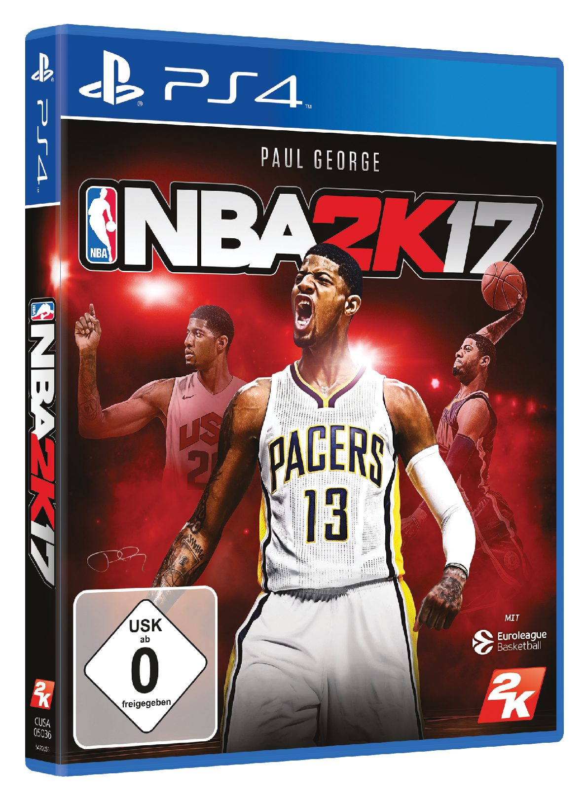 Take 2 NBA 2K17 DayOne Edition »PS4«