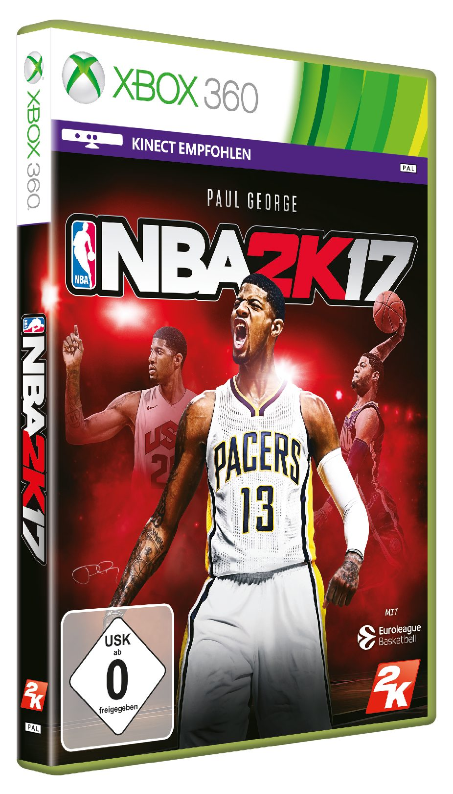 Take 2 NBA 2K17 DayOne Edition »X360«
